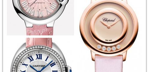 Unseen girl's heart, four Cheap Fake Cartier Watches with a very young girl's sense