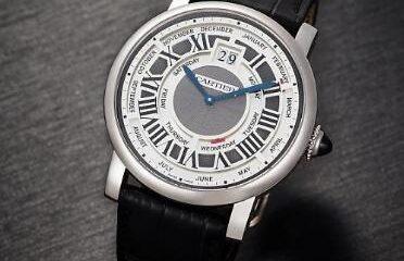 New height of the calendar Annual Rotonde de Cartier calendar