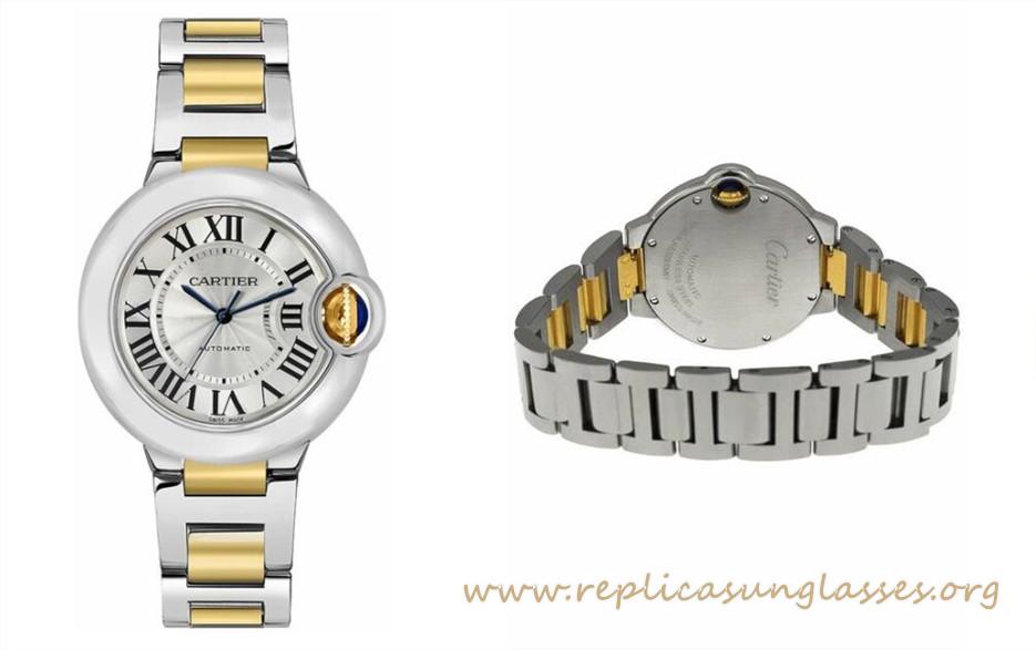 How Is The Cartier Ballon Bleu Rose Gold 33mm Replica Watch Workmanship?