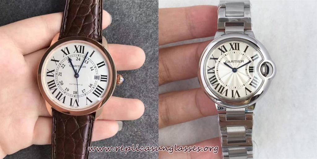 How Does Replica Ballon Bleu De Cartier Adjust The Time, Month And Week ?
